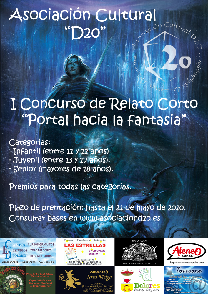 I Concurso de Relatos Cortos de Fantasia Cartel-copia